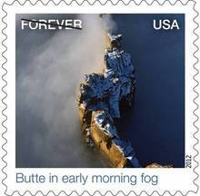A new U.S. postage stamp available Oct. 1 depicts Utah's Monument Valley.