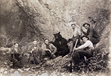 Bear hunters. Courtesy of Utah Historical Society