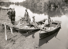 Fishing on Utah Lake. Courtesy of Utah Historical Society