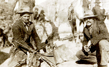Mountain lion hunters. Courtesy of Utah Historical Society