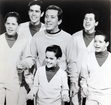 Salt Lake Tribune Archive  Andy Williams and the Osmond boys.