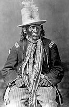 Ute Indian, 1860s. Courtesy Utah Historical Society