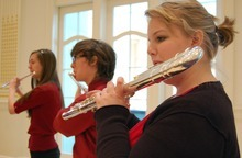 Courtesty University of Utah School of Music The University of Utah Flute Choir, known as the Runnin' FlUTES, will present its first fall semester concert 7:30 p.m. Oct. 3, 2012 at Dumke Concert Hall. Visit www.music.utah.edu for information.