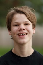 Trent Nelson  |  The Salt Lake Tribune Garrett Lines is a Utah teenager with autism who lives in a group home after his mother, Nikki Lines, turned him over to the child welfare system a few years ago.