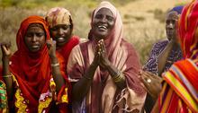 Courtesy photo Women celebrate in Somaliland.