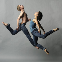 Repertory Dance Theatre's Aaron Wood and Toni Lugo will perform as part of the company's