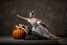 Ballet West First Soloists Arolyn Williams and Haley Henderson Smith in Sir Frederick Ashton's