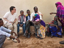 Courtesy photo Nicholas Kristof, left, in Somaliland.