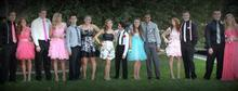 Out of this group, all but one girl was turned away from Stansbury High's homecoming dance Saturday because their dresses were deemed too short, according to parents. Stansbury High's principal apologized to students Monday that the dress code policy wasn't clearer and offered to hold another free dance to make up for it. Courtesy photo