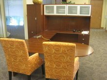 Some of the office furnishings listed by Erkelens & Olson at salesandauction.com that will be up for auction from a 25,000-square-foot office building in Fountain Green used in what allegedly was a giant Ponzi scheme.
