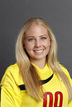 Lindsey Luke is a freshman goal keeper for the University of Utah. She was named Pac-12 Defensive Player of the Week. Courtesy University of Utah