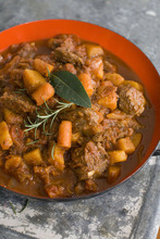 Using tender sirloin tips help make this Speedy Beef and Butternut Stew a weeknight friendly dish. (AP Photo/Matthew Mead)