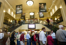 Kim Raff | The Salt Lake Tribune People attending a showing of