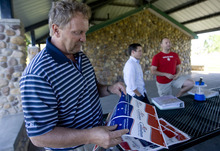 Kim Raff | The Salt Lake Tribune Rich Cunningham is the Republican running in the 50th district legislative race.