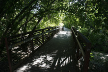 Francisco Kjolseth  |  The Salt Lake Tribune Hidden Hollow will soon be a little less hidden once it is connected by a tunnel to Sugarhouse Park. The American Planning Association announced Wednesday that the Fairmont-Sugar House area is among the