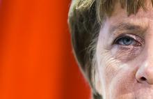 German Chancellor Angela Merkel briefs the media after a meeting the President of the Yemen Abd Rabbuh Mansur Al-Hadi, unseen, at the chancellery in Berlin, Thursday, Oct. 4, 2012. (AP Photo/Markus Schreiber)