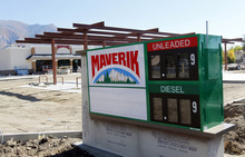 Al Hartmann  |  The Salt Lake Tribune New Maverik gas station-convenience store under contruction on the southeast corner of 28th and Washington Blvd in Ogden.
