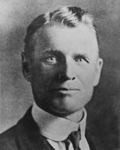 This undated photo of William T. Phillips was taken from the Larry Pointer Collection, American Heritage Center, University of Wyoming in Laramie, Wyo. A collector of rare books and documents says he has obtained a manuscript containing new evidence that Butch Cassidy wasn't killed in a 1908 shootout in Bolivia but returned to the U.S. and lived on in Washington State for almost three decades. The original handwritten manuscript of
