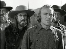 Courtesy 20th Century Fox Dean Jagger (center right) plays the title role in the 1940 Western saga