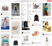 (AP Photo/Pinterest) Social media sites are taking citizen marketing to a new extreme, turning anyone's Pinterest image, Twitter message, Facebook post or email into a possible paid promotion.