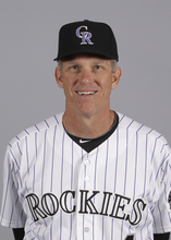 This is a 2012 photo of Jim Tracy of the Colorado Rockies baseball team.  This image reflects the Colorado Rockies active roster as of Feb. 28, 2012 when this image was taken. (AP Photo/Darron Cummings)