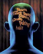 Courtesy photo Past Riester anti-tobacco efforts included this campaign in the 1990s.