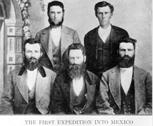 Photo Courtesy Utah Historical Society  This group was also the first LDS missionaries to be sent into Mexico in 1876. The expedition was to discover sites for colonies.