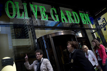 Victor J. Blue/Bloomberg Last year, Darden put workers on a