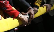 Francisco Kjolseth  |  The Salt Lake Tribune The ceremonial ribbon cutting takes on a new