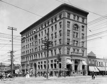 The Crandall Building, originally known as the McCornick Building, shown in 1905. Courtesy Utah State Historical Society