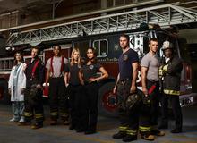 Teri Reeves, David Eigenberg, Charlie Barnett, Lauren German, Monica Raymund, Taylor Kinney, Jesse Spencer and Eamonn Walker star in NBC's