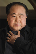 In this photo taken Tuesday, Dec. 27, 2005, Chinese writer Mo Yan listens during an interview in Beijing. Mo won the Nobel Prize in literature on Thursday, Oct. 11, 2012. (AP Photo)