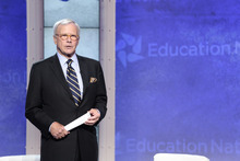 Pictured: Tom Brokaw -- (Photo by: Charles Sykes/NBC)