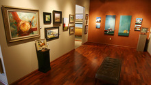 Steve Griffin | The Salt Lake Tribune    Artwork in the art show