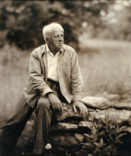 This handout photo provided by the National Portrait Gallery shows Robert Frost, by Clara Sipprell Gelatin, c. 1955. America often knows the names but not the faces of its great poets. Now the Smithsonian's National Portrait Gallery is introducing dozens of 20th century poets to Washington visitors.