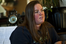 Tribune file photo Jennifer Graves talks about her brother Josh Powell and dad Steve Powell at her home in West Jordan in 2010.