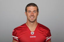 This is a 2011 photo of Alex Smith of the San Francisco 49ers NFL football team. This image reflects the San Francisco 49ers active roster as of Monday, Aug. 8, 2011 when this image was taken. (AP Photo)