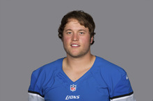 This is a 2012 photo of Matthew Stafford of the Detroit Lions NFL football team. This image reflects the Detroit Lions active roster as of Monday, June 11, 2012 when this image was taken. (AP Photo)