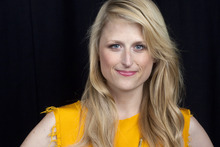 This Oct. 2, 2012 photo shows American actress Mamie Gummer posing for a portrait in New York. Gummer portrays the title character in the CW drama series