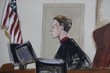 This courtroom sketch shows Judge U.S. Magistrate Judge Roanne Mann in Brooklyn Federal Court in New York on Wednesday, Oct. 17, 2012 during a hearing for Quazi Mohammad Rezwanul Ahsan Nafis. The Bangladeshi man who came to the United States to wage jihad was arrested in an elaborate FBI sting on Wednesday after attempting to blow up a fake car bomb outside the Federal Reserve building in Manhattan, authorities said. Before trying to carry out the alleged terrorism plot, Nafis went to a warehouse to help assemble a 1,000-pound bomb using inert material, according to a criminal complaint. He also asked an undercover agent to videotape him saying,