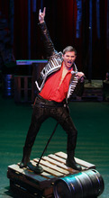 Steve Griffin |  The Salt Lake Tribune J.C. Ernst plays Andrew Jackson in Salt Lake Acting Company's regional premiere of the politically uncorrect rock musical