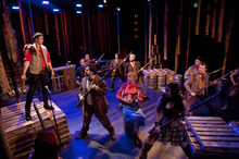 Steve Griffin |  The Salt Lake Tribune J.C. Ernst and the cast of Salt Lake Acting Company's
