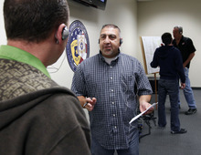 Al Hartmann  |  The Salt Lake Tribune University of Utah police officer Jack Fermarian