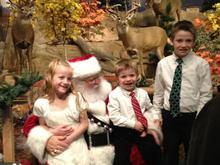 Mike Murry would grow out his own bushy, white beard and don a Santa outfit each Christmas. Courtesy | Derk Wharton