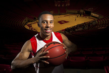 Chris Detrick  |  The Salt Lake Tribune Utah Ute basketball player Glen Dean poses for a portrait at the Huntsman Center Wednesday October 17, 2012.