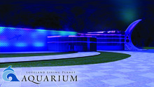 A digital rendering of The Loveland Living Planet Aquarium at night. The 136,000 square-foot building is set to open in December 2013. Courtesy: The LIving Planet Aquarium