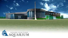 A digital rendering of the 136,000 square-foot Loveland Living Planet Aquarium from the outside. Courtesy: The LIving Planet Aquarium