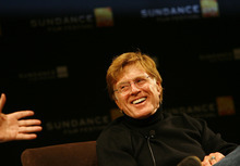Robert Redford speaks during a press conference at the 2007 Sundance Film Festival. Tribune file photo