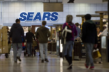 Kim Raff  |  The Salt Lake Tribune The Sears store at Provo Towne Centre has signed a new short-term lease with General Growth Properties. The future is less certain for the Sears at Fashion Place Mall in Murray, above.