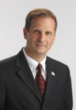 Chris Stewart. Courtesy image  Republican Chris Stewart likes his Democratic opponent's plan to cut taxes for businesses bringing capital from overseas to the United States, but says it doesn't go nearly far enough to fix the economy.
